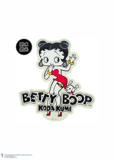 KODA KUMI × BETTY BOOP CAR STICKER