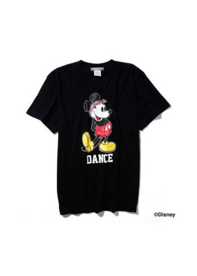 ダンスミッキーマウスTシャツ