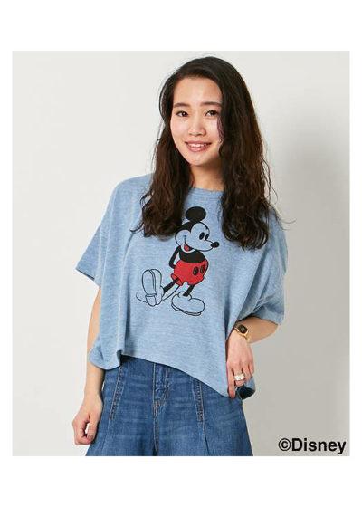 ショート丈Tシャツ
