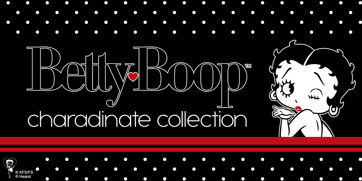 Betty Boop charadinate collection