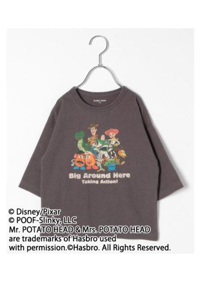 7分袖Tシャツ(キッズ)